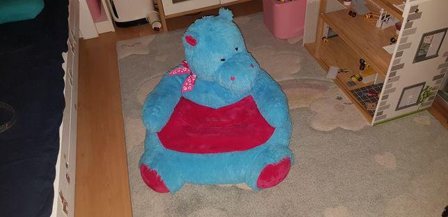 Fotel/siedzenie dziecięcy smiki hipcio hipopotam