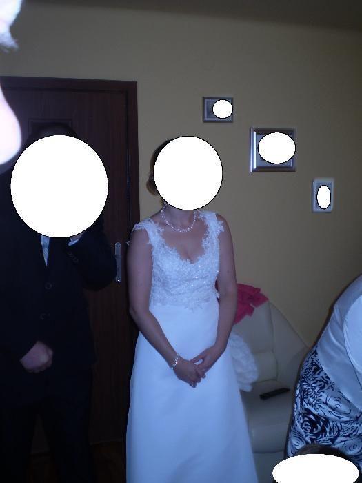 Suknia ślubna rozmiar 38 Pabianice - image 1