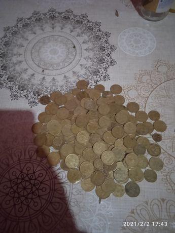 Копейки 1992 года 10.25.50 копеик украина