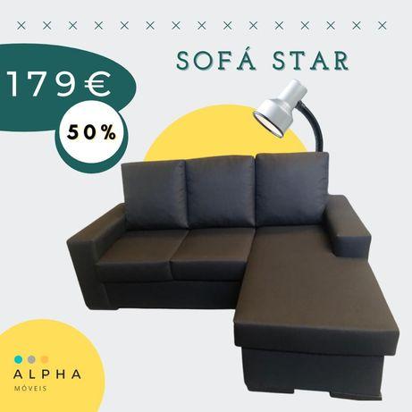 Sofas com chaiselong reversível pagamento é somente na entrega