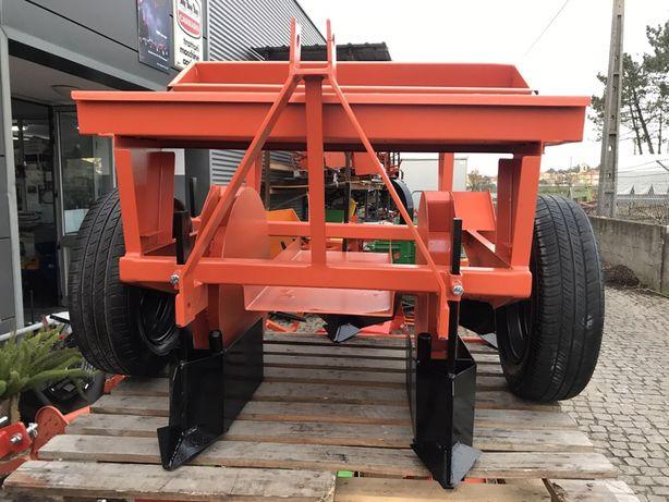 Semeador plantador batatas 2/3 linhas para mini tractor