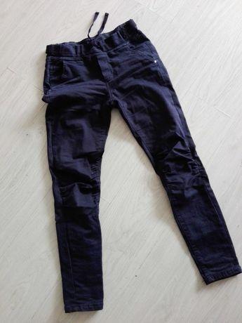 Sprzedam spodnie damskie granatowe eleganckie r. 34 OKAZJA!