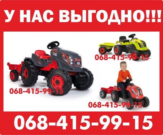 Трактор на педалях Smoby 710110  710109  710108  710114 710301 710200