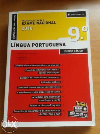 Livro auxiliar preparação para o exame nacional - 2010 9ºano - portugu