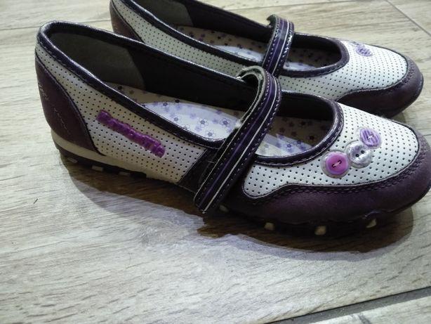 Buty buciki balerinki dziewczęce r.33 jak nowe