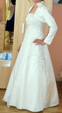 Suknia z krysztalkami svarowskiego 38-40