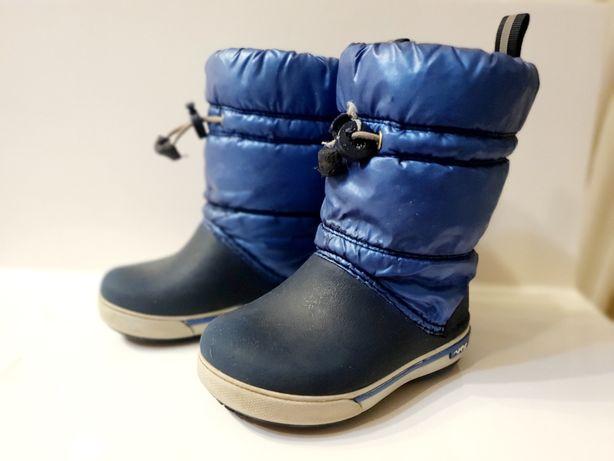 Зимние сапоги Crocs c7