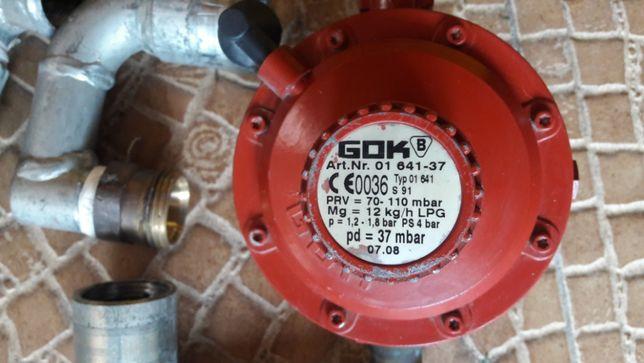 Rurki gazowe kolanka złączki kpl do instalacji sieci gazowej.reduktora