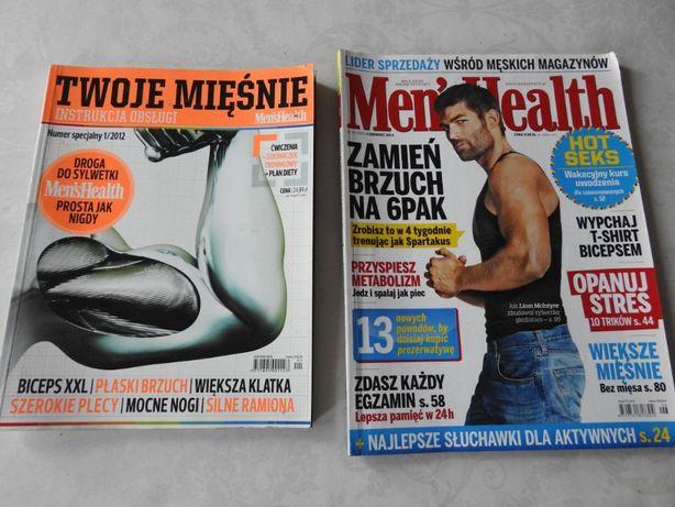 Twoje mięśnie i MensHealth zestaw 2 szt czasopism