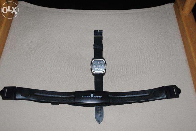 Relógio sigma sport com controlador cardíaco pc-14