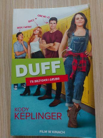 "Kody Keplinger ""Duff ta brzydka i gruba ""."