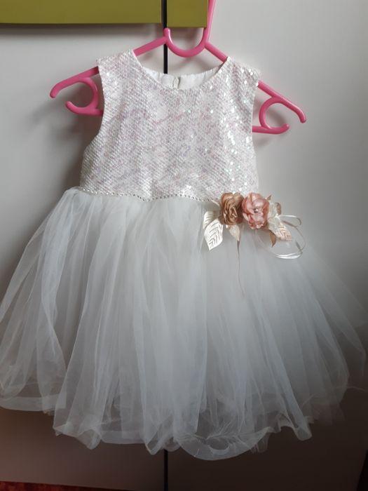 Sukienka okazjonalna na wesele 92 rozmiar Szulborze Wielkie - image 1