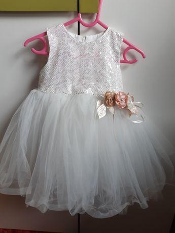 Sukienka okazjonalna na wesele 92 rozmiar