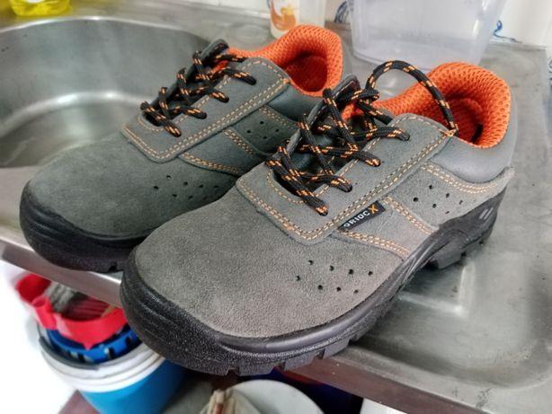 Botas de biqueira de aço
