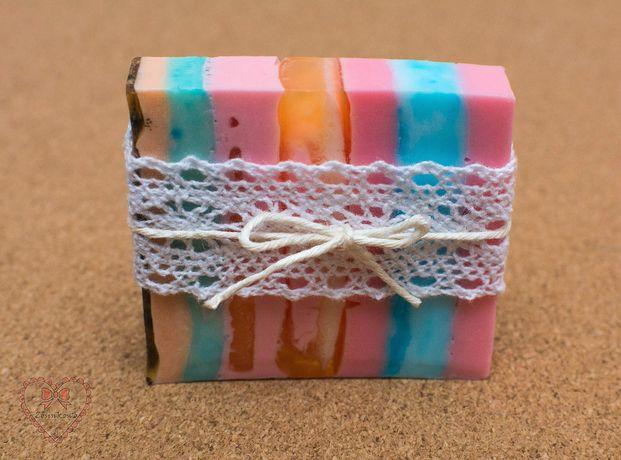 Mydełka glicerynowe KOSTECZKI rękodzieło Upominki dla gości