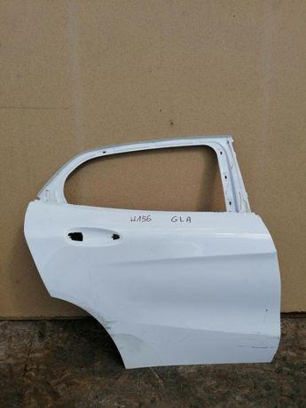 Drzwi tył prawe Mercedes w156 GLA Białe Do lakierowania