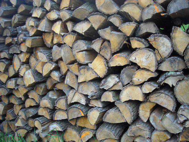 Dąb Drewno Kominkowe Opałowe Sezonowane Suche