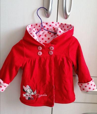 Тёплая флисовая курточка