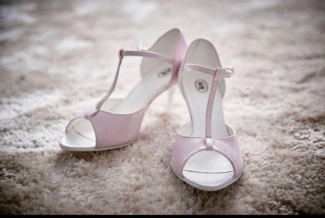 Sandałki ślubne witt