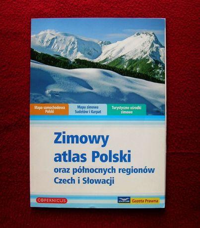 Zimowy Atlas Polski oraz Północnych Regionów Czech i Słowacji