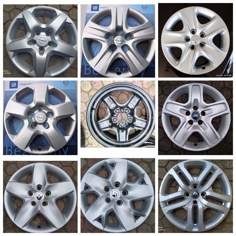 Диски структурные р16 5 108Ford 5 110 Opel 5 114 Renault колпаки