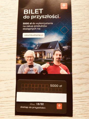 Columbus Energy - bilet do przyszłości - kupon