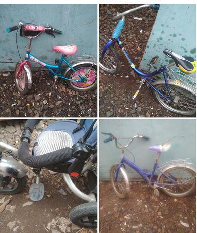 Велосипеды , детских б/у.Обмен.