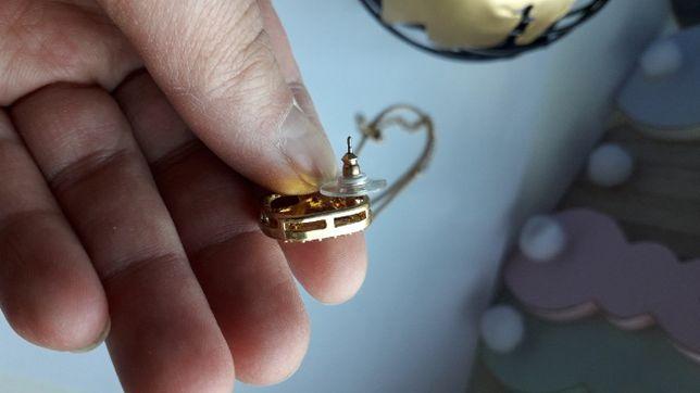 biżuteria AVON kolczyki, łańcuszek