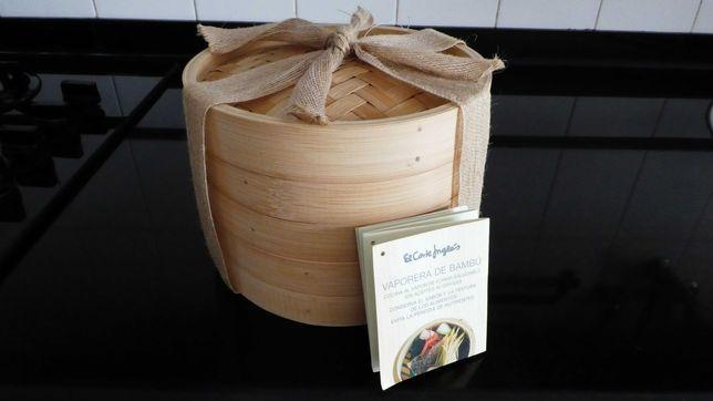 Cesto de Bambu - cozinha saudável