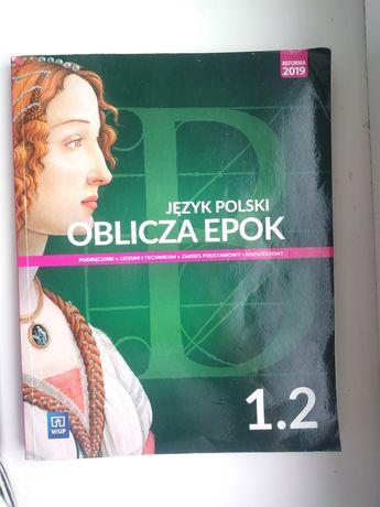 """Podręcznik """"Oblicza epok 1.2"""""""