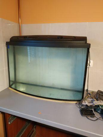 Akwarium panoramiczne 120 l.