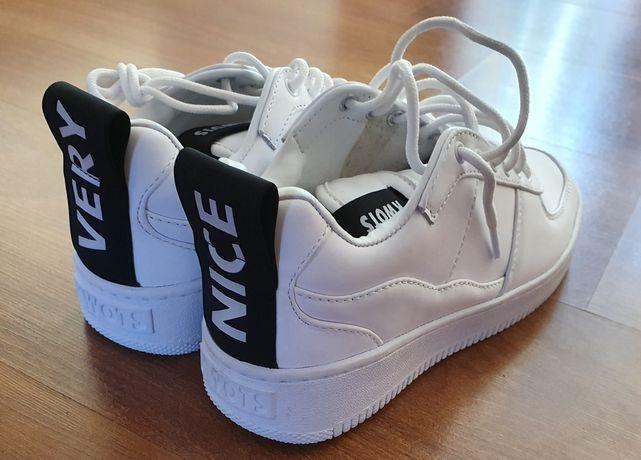 Buty, sneakersy skórzane Kwots r. 39