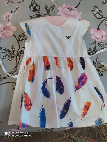 Стильные платья для девочки 3-4 лет