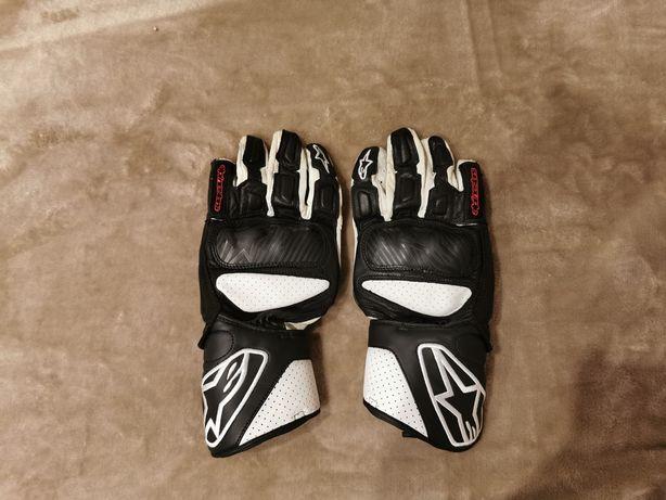 Rękawice motocyklowe Alpinestars Sp8. Użyte jeden raz. Rozmiar M