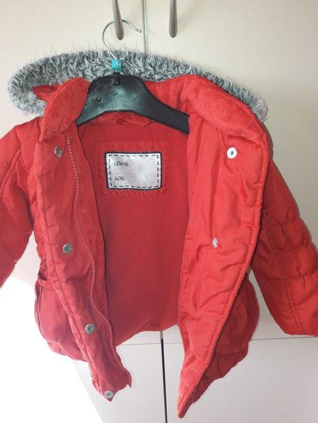 Kurtka czerwona jesienno/ zimowa 86