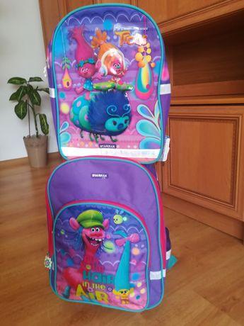 Zestaw plecaków, szkolny i wycieczkowy Starpak Trolle