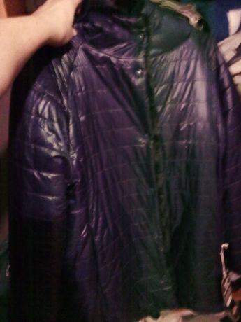Dwustronna kurtka płaszczyk futerko Lonsdale nowe M/L