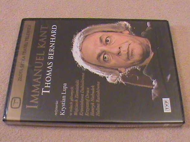 Thomas Bernhard - Immanuel Kant - reż. Krystian Lupa. DVD - w folii!