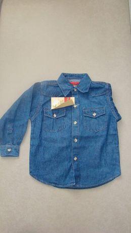 Koszula jeansowa/dżinsowa dziecięca