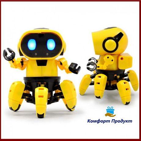 Крутой Интерактивный Робот конструктор HG 715 Tobbie Robot, тоби
