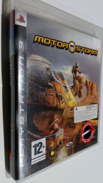 Gra PS3 Motor Storm Motorostorm gry PlayStation 3 Quady motory wyścigi