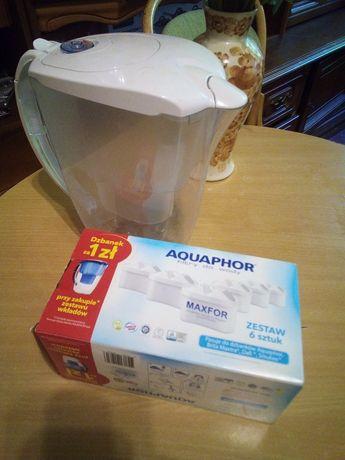 Dzbanek i filtry Brita aquaphor