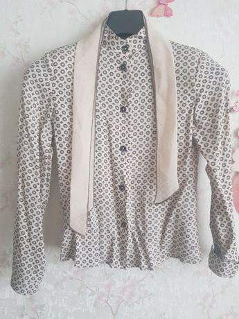 Блуза- Рубашка для девочки р.134