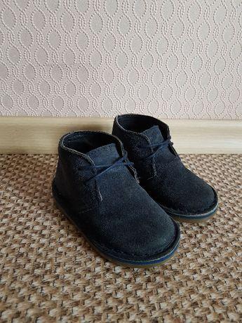 Крутые замшевые ботинки Next 5р. (для пустыни) zara h&m