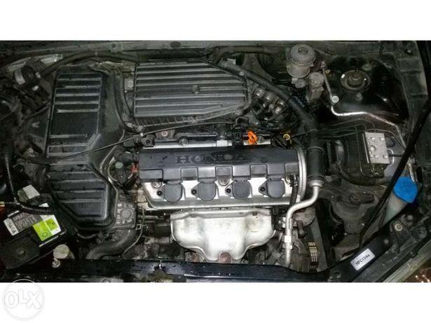 2003 Motor honda 2001 civic de 2002