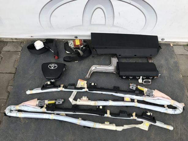 AIRBAG аирбег подушка в руль ремені торпеда штора Toyota Camry 50 55