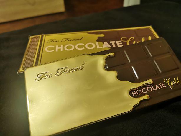Vende-se paleta de sombras chocolate gold da Too Faced como nova
