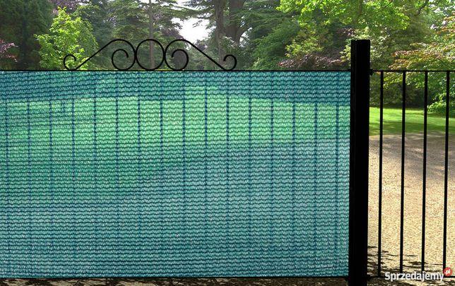 Siatka cieniująca maskująca WYSOKA 1,5 osłonowa ogrodzeniowa ogród 95%