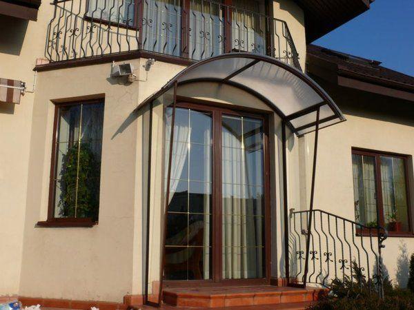 Daszek nad wejściem, wejściami, balkonem, zadaszenia, wiaty, daszki