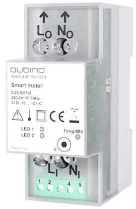 Qubino Smart Meter + IKA232-20 ZWave